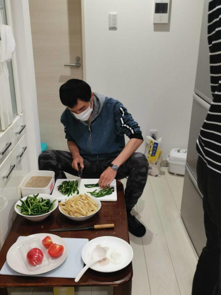 中国人技能実習生生活風景01
